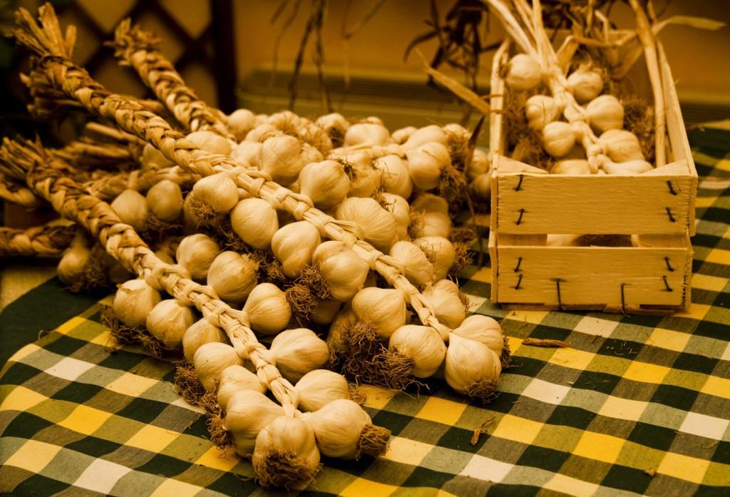 le reste d'aglio di Vessalico