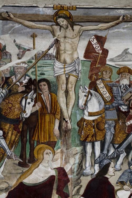 Crocifisso nella chiesa di San Bernardino