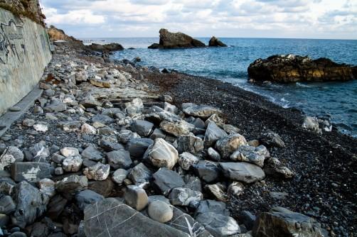 La spiaggia della Galaezza ad Imperia è sparita