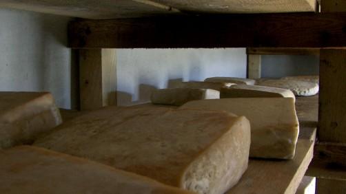 Il formaggio stagiona