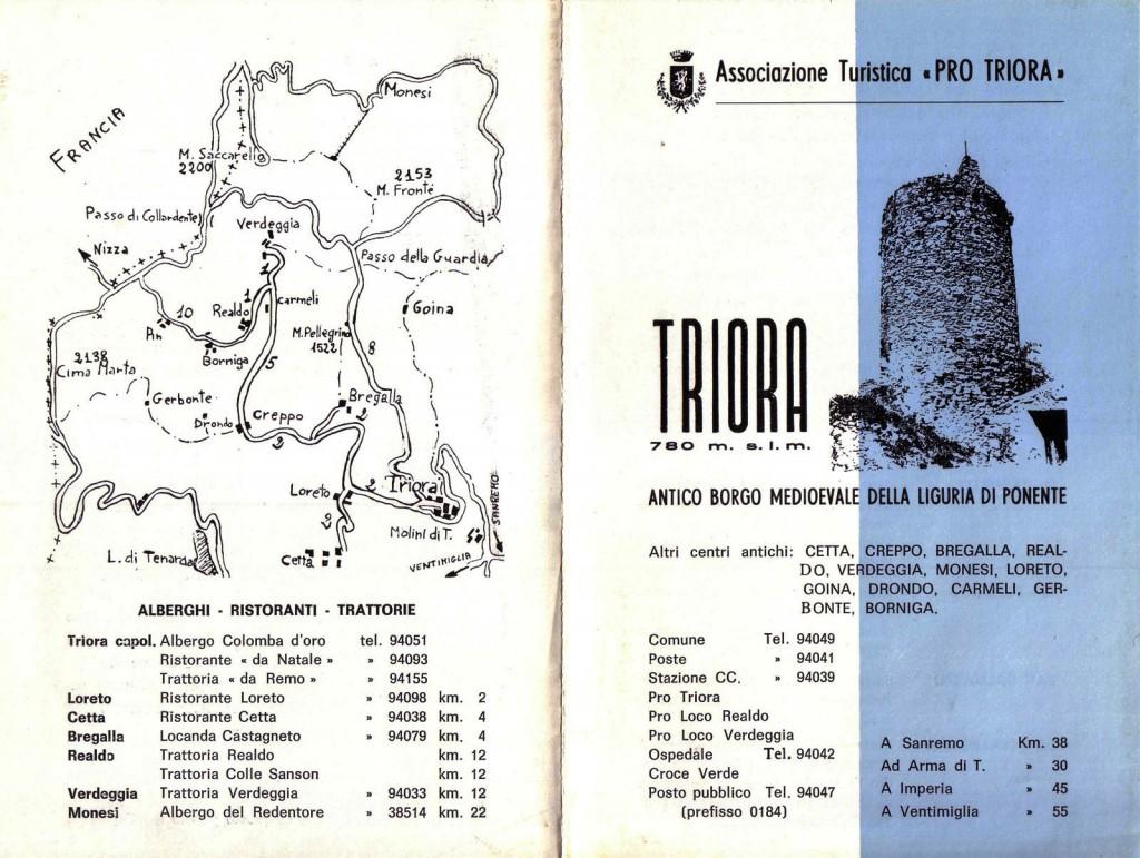 Triora - Città Inespugnabile - Depliant