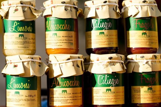Barattoli di marmellata - Fiera Candelora 2012