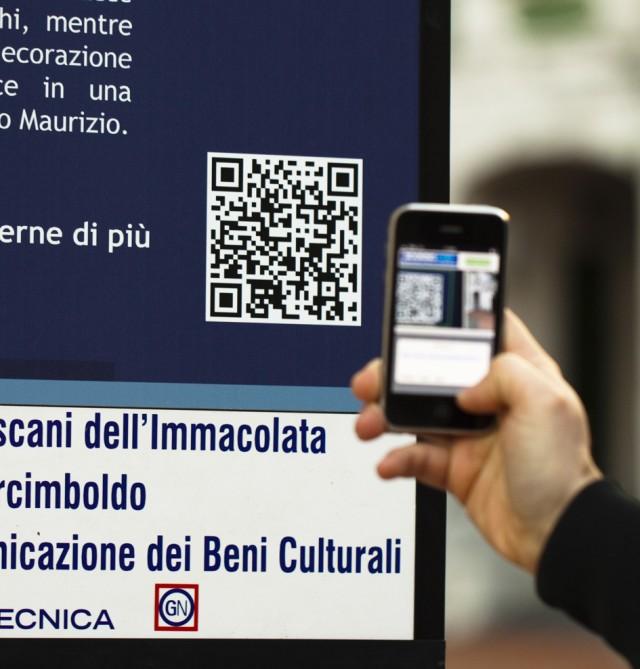 Madonna della Rovere QR Code - Prima tappa dell'Eco Museo - Andar per Chiesette