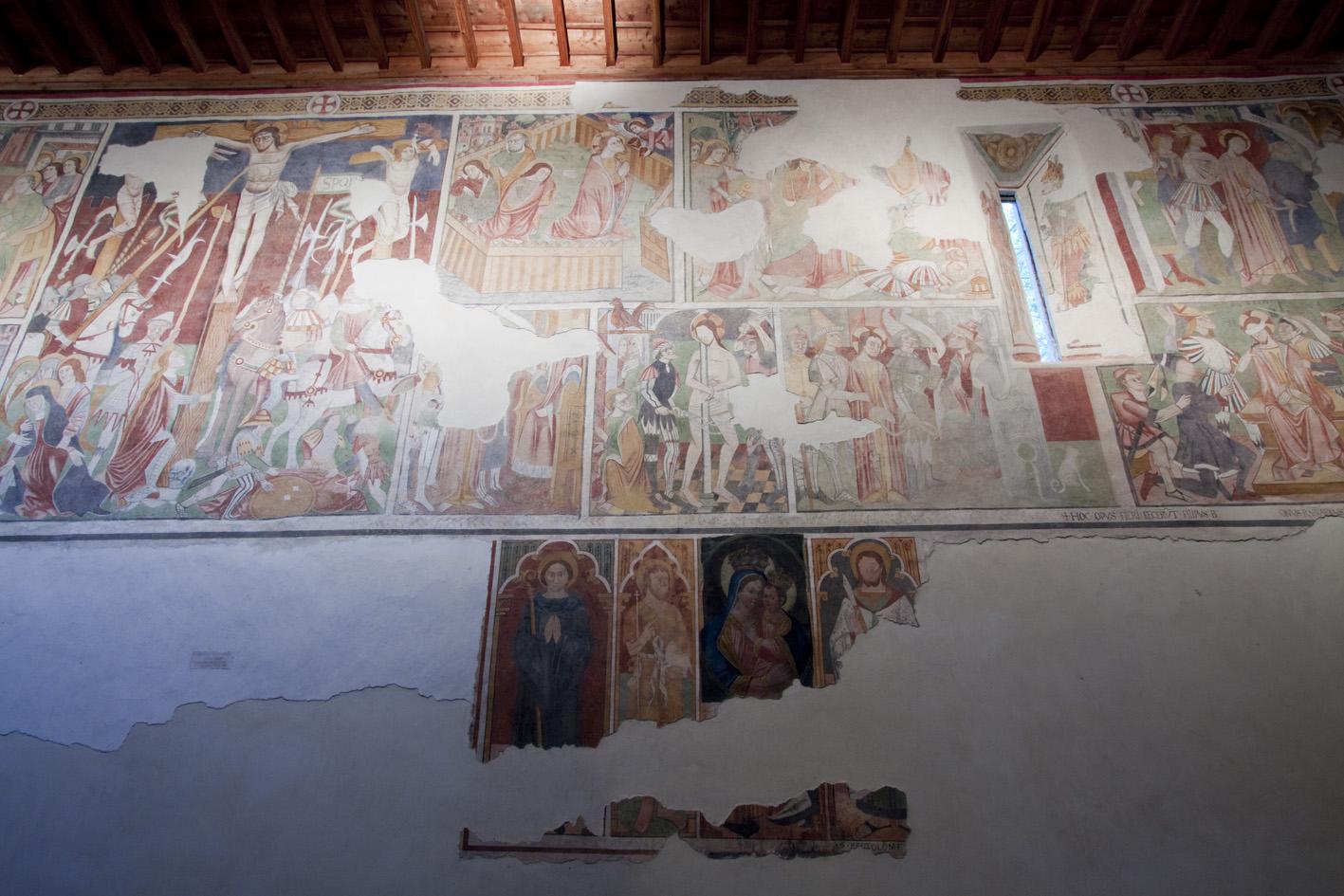 Santuario di Rezzo - affreschi