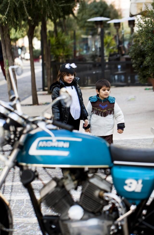 Carnevale Dianese 2012 - Diano Marina- Moto d'epoca