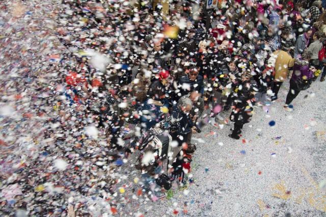 Carnevale Dianese 2012 - Diano Marina - Coriandoli
