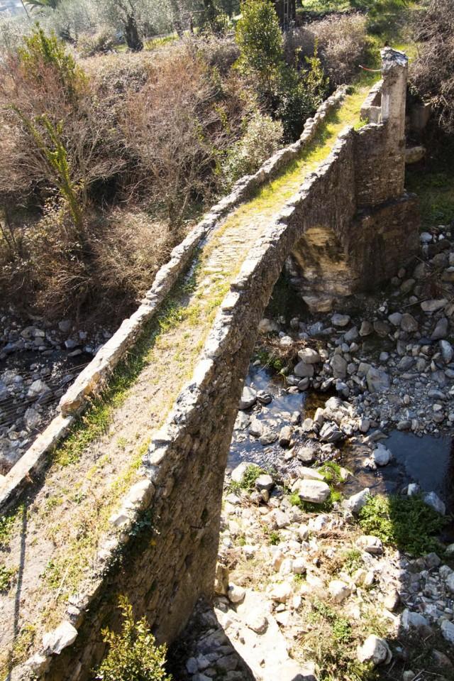 Ponte Medievale di Diano Roncagli - Diano San Pietro