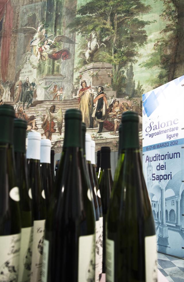 Finalborgo Salone Agroalimentare 2012 - vino ligure