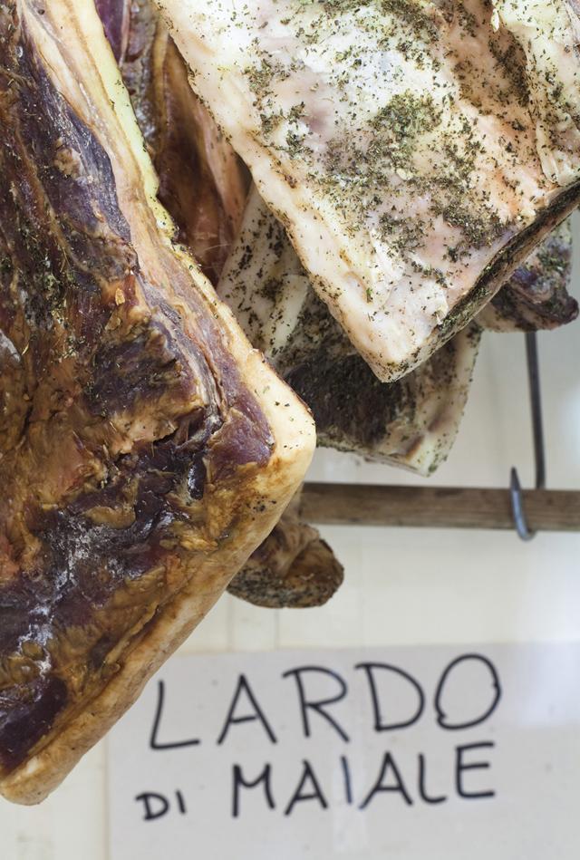 Finalborgo Salone Agroalimentare 2012 - lardo di maiale