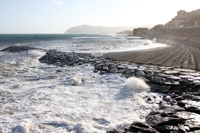 Mareggiata al Porteghetto - Cervo e Golfo Dianese
