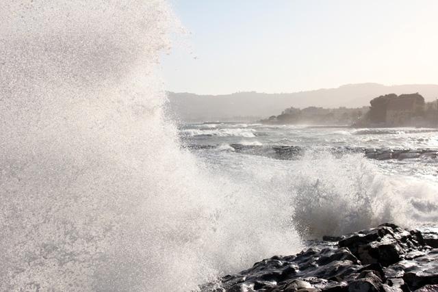 Golfo Dianese e muro d'acqua.
