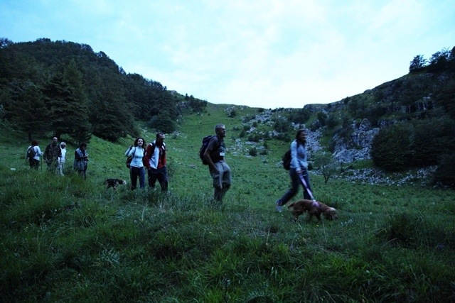 Sotta di San Lorenzo in trekking notturno