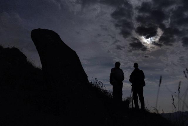 il menhir sulla Sotta di San Lorenzo, Via Marenca, Liguria #visitriviera #italianriviera
