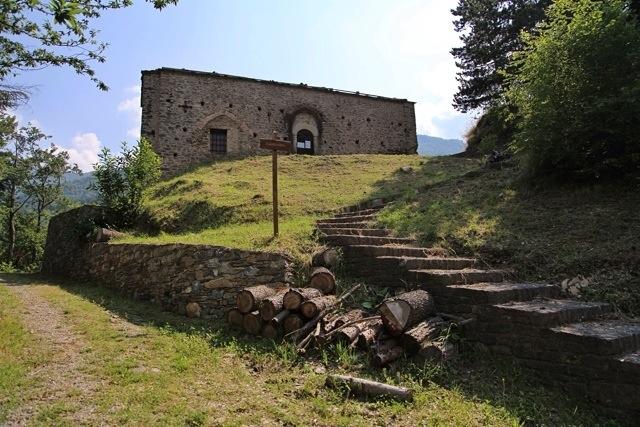 la chiesa di Santa Margherita a Mendatica