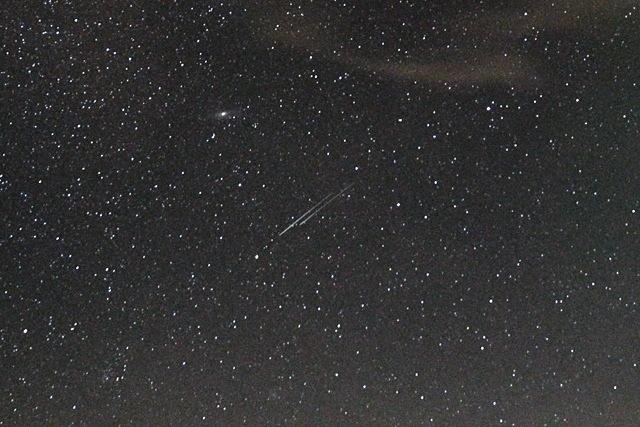 Perseidi meteore 10 agosto san Lorenzo 2013 dal Monte Armetta sulla Liguria