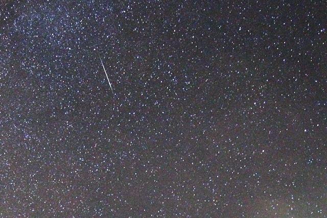 stella cadente 10 agosto 2013 dal Monte Armetta